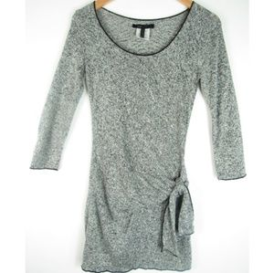 SALE   BCBG- Sweater Dress- Gray Women Small